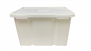 Caja hermética de 50 litros - Blanco