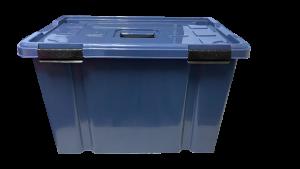 Caja hermética de 50 litros - Azul navy
