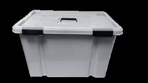 Caja hermética de 50 litros - Gris claro