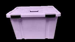 Caja hermética de 50 litros - Morado lila