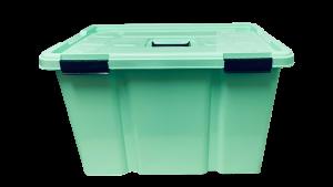 Caja hermética de 50 litros - Verde menta