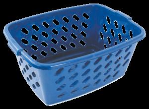 Canasta rectangular para ropa