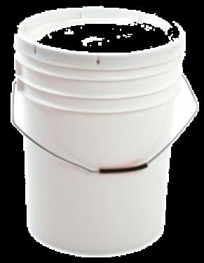 Cubeta 5 galones - Blanca No apta para alimentos