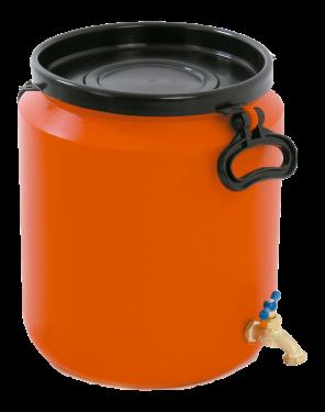 Envase 20 litros T/S con grifo
