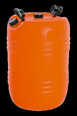 Envase 80 litros - dos bocas