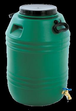 Envase 80 litros con grifo