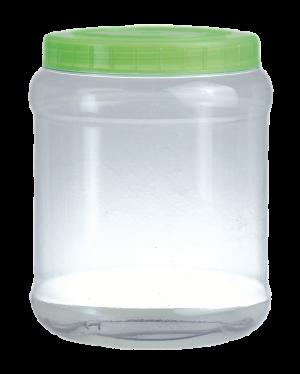 Envase dulcero PVC cilíndrico