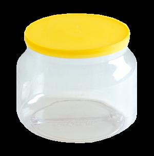 Envase dulcero PVC bombonerito tapa pinta